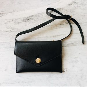 Zara black belt bag